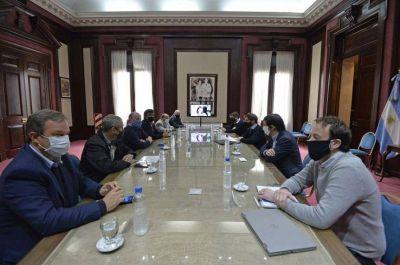Kicillof con intendentes de la tercera sección electoral