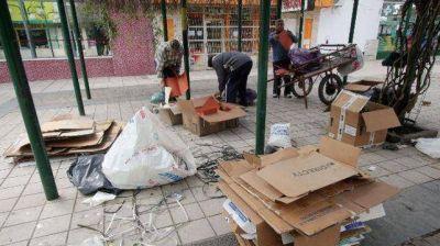 Impulsan que se reconozca como esencial el trabajo de los recuperadores de residuos