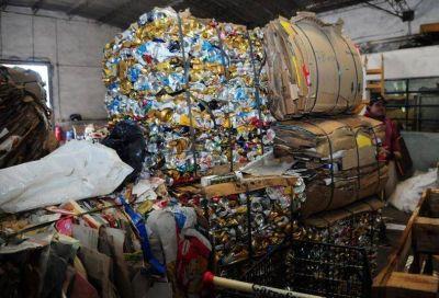 Volvió a funcionar la Cooperativa de Recuperadores y buscan que el reciclado siga creciendo en la ciudad