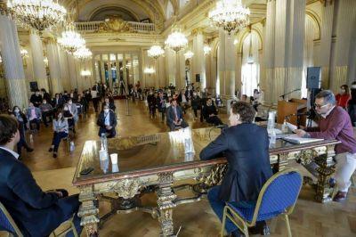 La Legislatura porteña aprobó la Ley de Emergencia Económica