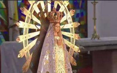 Misa digital para pedir a la Virgen del Luján por el fin de la pandemia