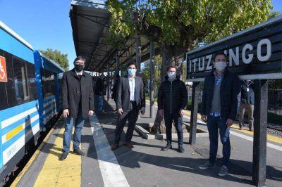 Se retomó la renovación de la estación de Ituzaingó