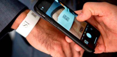 San Isidro: Por COVID-19, colocan a pacientes pulseras de seguimiento