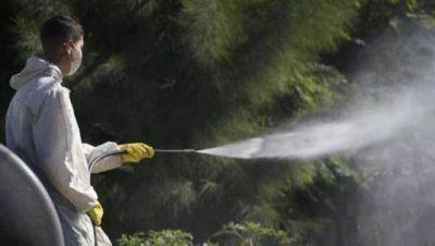 Se profundiza los trabajos de fumigación contra el dengue en Morón