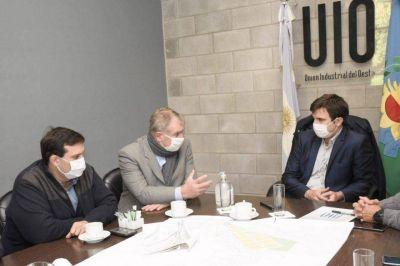 Avanza el proyecto de ampliación del Parque Industrial La Cantábrica en Morón