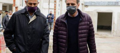 Ferraresi y el ministro Katopodis recorrieron obras en Avellaneda