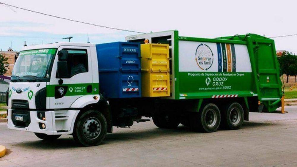 Arranca hoy en Godoy Cruz la recolección exclusiva de basura seca