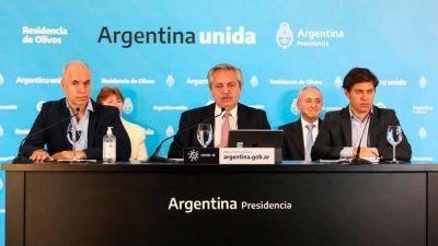Lo que dejó el anuncio de la extensión de la cuarentena: las diferencias entre Rodríguez Larreta y Kicillof y el dardo de Alberto Fernández a la oposición