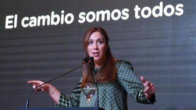 La estrategia de María Eugenia Vidal para mantenerse como líder de la oposición en la provincia de Buenos Aires