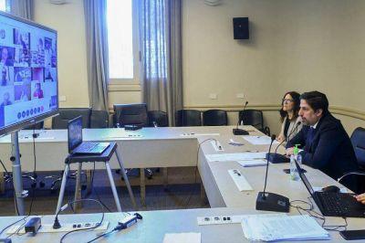 El ministro Trotta se reunió con los gremios docentes por teleconferencia