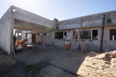 Moreno: Avanza la construcción de un nuevo centro de salud