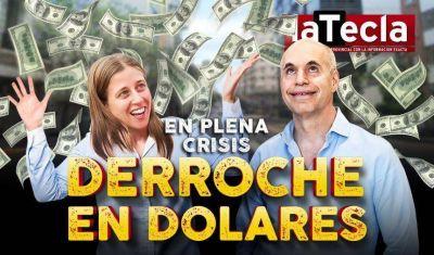 El GCBA derrocha dólares en una consultora