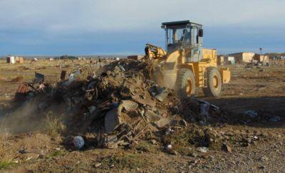 Trelew: Se retiraron más de 200 camiones de basura del barrio La Costanera