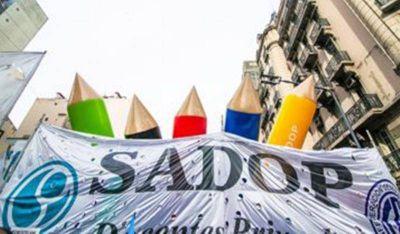 Paritaria Nacional Docente: SADOP exigió el cobro de sueldos y la regulación de la actividad en cuarentena