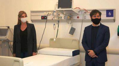 """Cañuelas: El gobernador Axel Kicillof recorrió el Hospital Kirchner y el Centro de Aislamiento """"Hermanas Dominicas"""""""