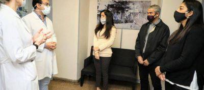 Ferraresi se reunió con la titular de PAMI, Luana Volnovich