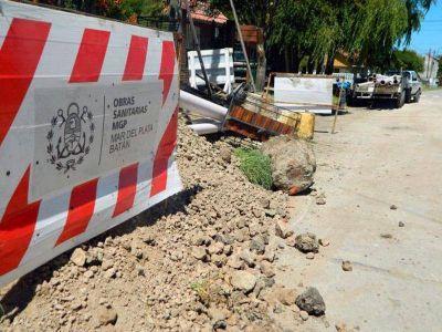 OSSE buscará destrabar un proyecto de cloacas para la zona sur