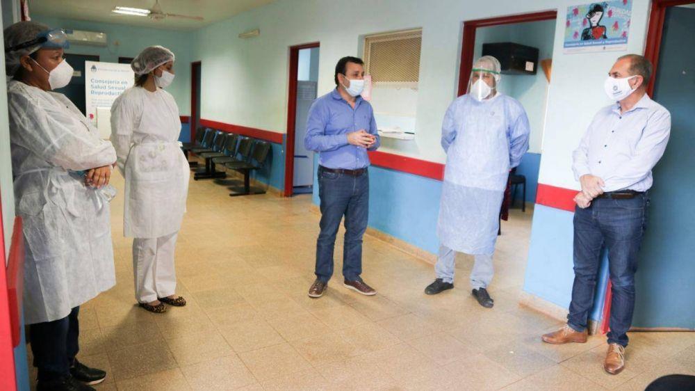 Stelatto y Herrera Ahuad entregaron medicamentos y elementos de bioseguridad a CAPS municipales