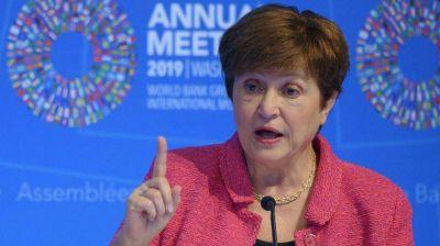 Otro respaldo de Georgieva, jefa del FMI, a la renegociación de la deuda argentina