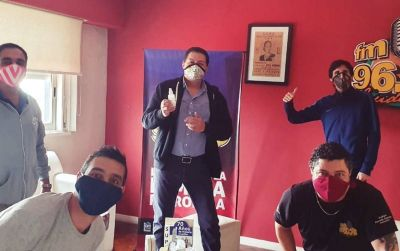 """Garaza advierte a opositores si van al paro: """"Firmás tu sentencia de muerte"""""""