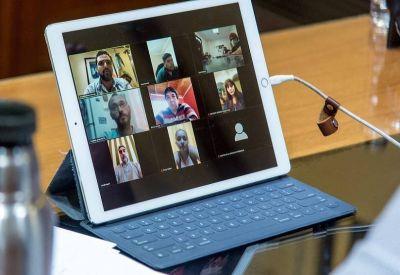 La CGT Ushuaia mantuvo una videoconferencia con el Intendente de Ushuaia