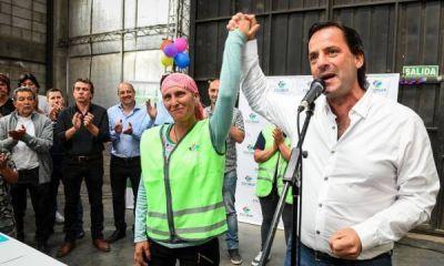Sujarchuk inauguró el primer centro municipal de reciclado de residuos sólidos urbanos