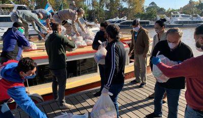 Nueva entrega de productos del Servicio Alimentario Escolar para el Delta