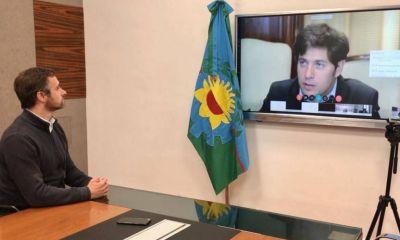 Achával participó de teleconferencia con Kicillof donde se presentó una línea de financiamiento para municipios