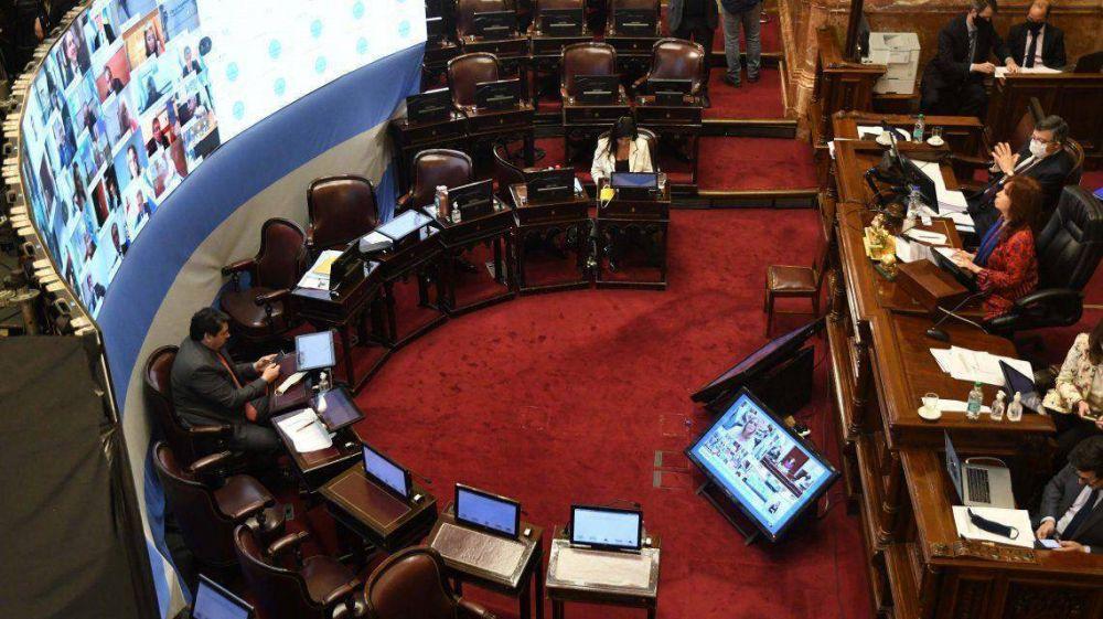Por primera vez en la historia, Diputados y Senado realizaron sesiones virtuales