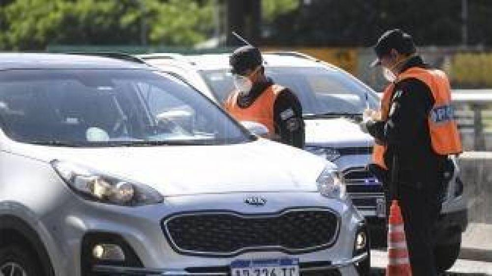 Unos 93.000 vehículos ingresaron a la Ciudad, un 5% más que hace una semana
