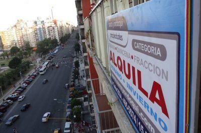CABA: la oferta de departamentos para alquilar bajó un 30% en el último mes