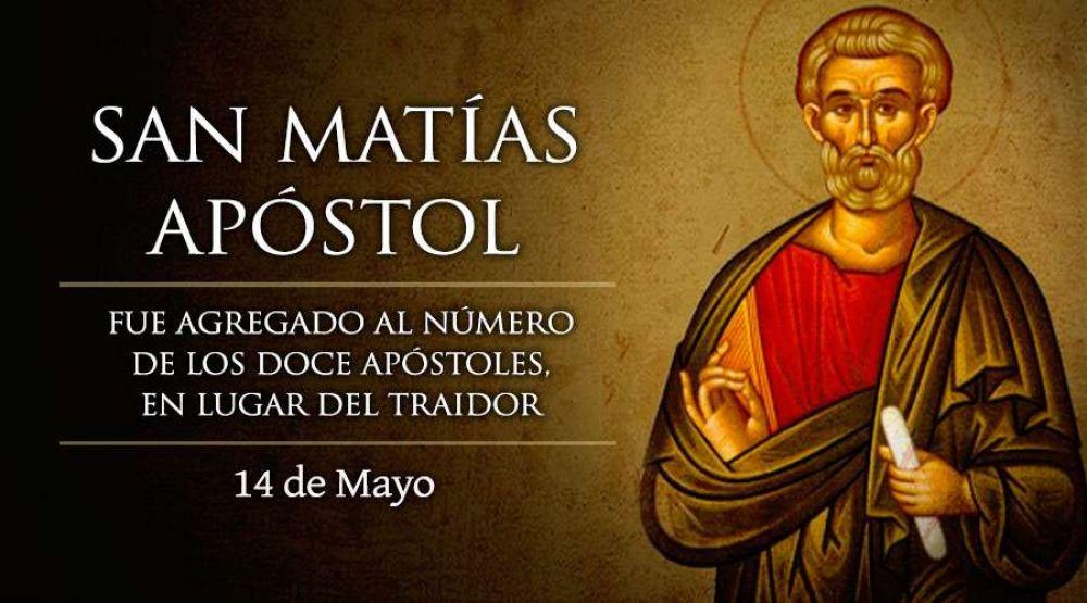 """Hoy es fiesta de San Matías, el apóstol """"número doce"""""""