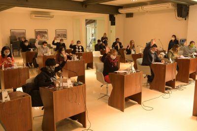Concejales de San Fernando volvieron a sesionar, con medidas de prevención