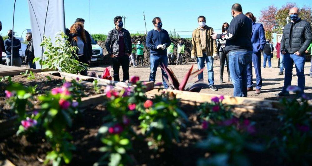 Sujarchuk y Cabandié inauguraron el Centro Municipal de Reciclado y Compostaje, y promovieron nuevas acciones en el marco del programa Escobar Sostenible