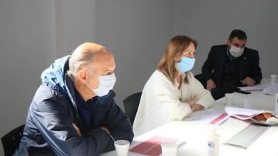Reapareció Vidal en una reunión de gabinete en el municipio de Lanús