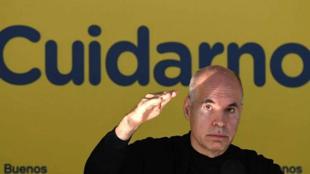 """Rodríguez Larreta, tras las críticas de Alberto Fernández a María Eugenia Vidal: """"El Presidente no aludió a nadie en particular, son genéricos sus comentarios"""""""