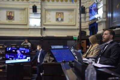 Otermín se mostró satisfecho con la primera sesión mixta y valoró el apoyo de la oposición