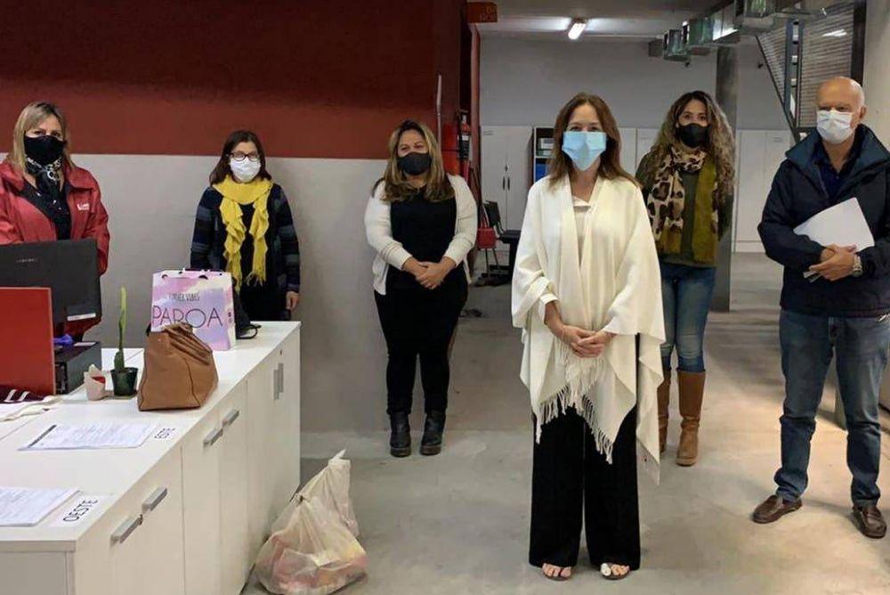 Coronavirus en la Argentina: María Eugenia Vidal reapareció en Lanús tras las críticas de Alberto Fernández