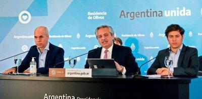 Al ritmo de la pandemia crece la tensión entre Horacio Rodríguez Larreta y Axel Kicillof