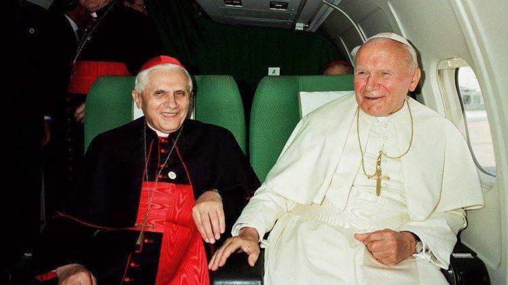 Las palabras del Papa emérito sobre la misericordia en San Juan Pablo II