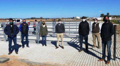 Cañuelas: Se reactivaron las obras del Mercado Agroganadero
