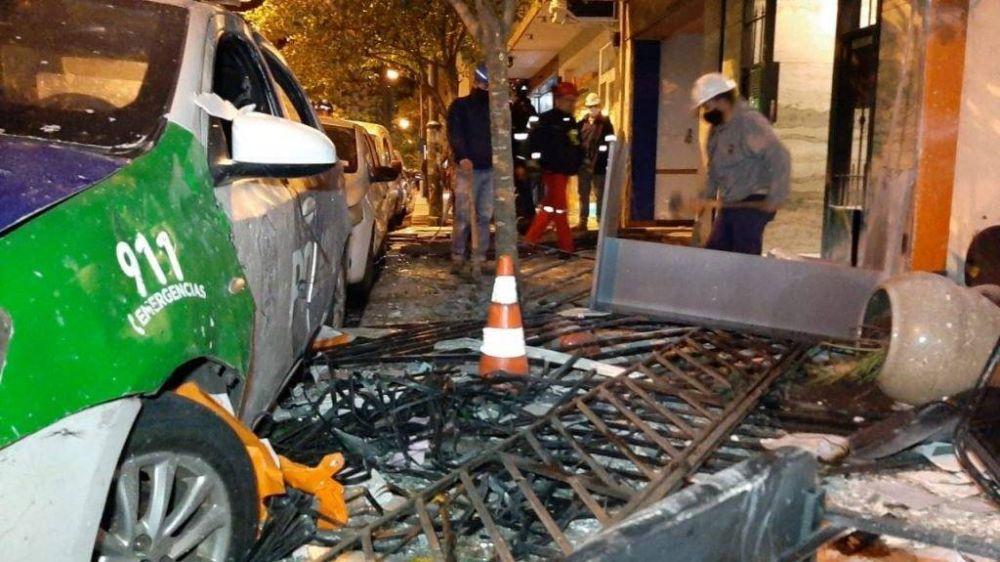 """Explosión en el centro: """"Se ha neutralizado el riesgo que tiene que ver con el suministro de gas"""""""