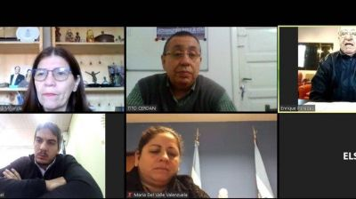 Reunión virtual de las 62 Organizaciones Sindicales
