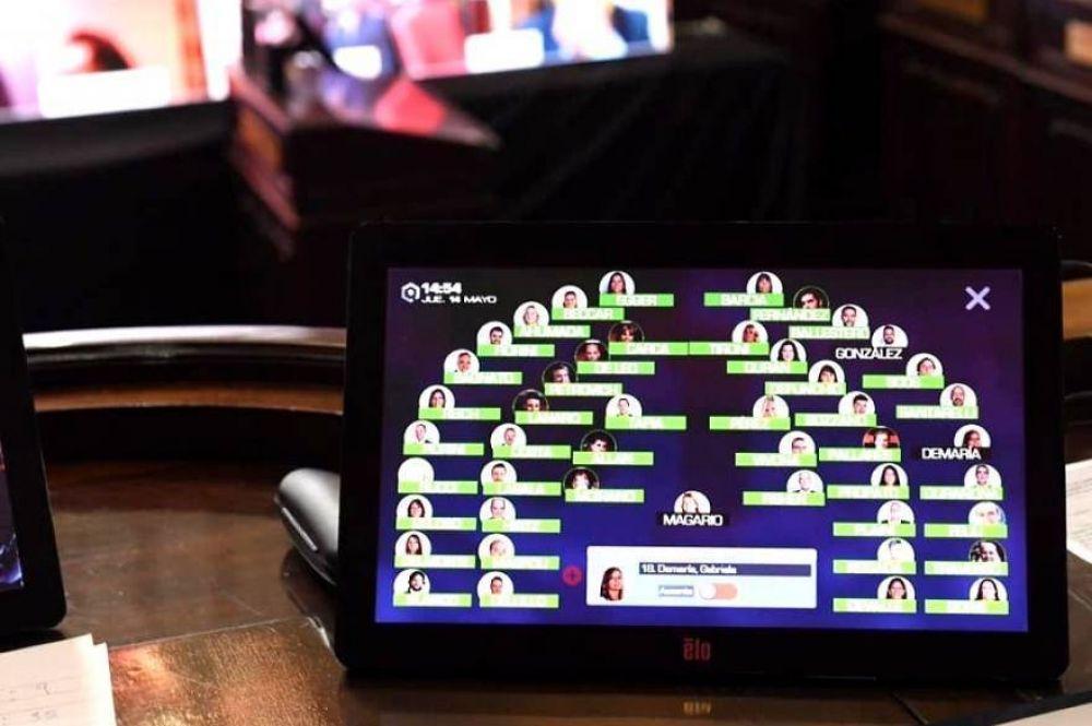 Mirá como quedó el armado final de comisiones en la Cámara de Senadores bonaerense