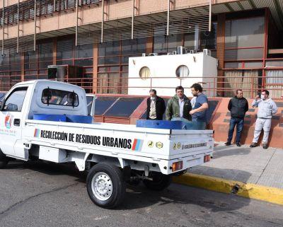 El Municipio de Concepción del Uruguay adquirió un nuevo camión para el área de recolección de residuos