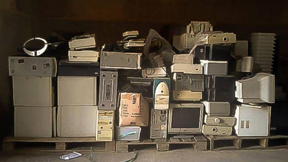 Ambiente retiró 650 kilos de residuos tecnológicos de la Municipalidad de la Capital