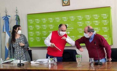 Acuerdo entre Inaes y Marcos Paz para promocionar el cooperativismo y la economía social solidaria