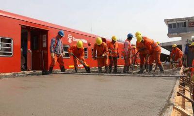 Cerrarán por obras un paso a nivel del Ferrocarril Belgrano Norte
