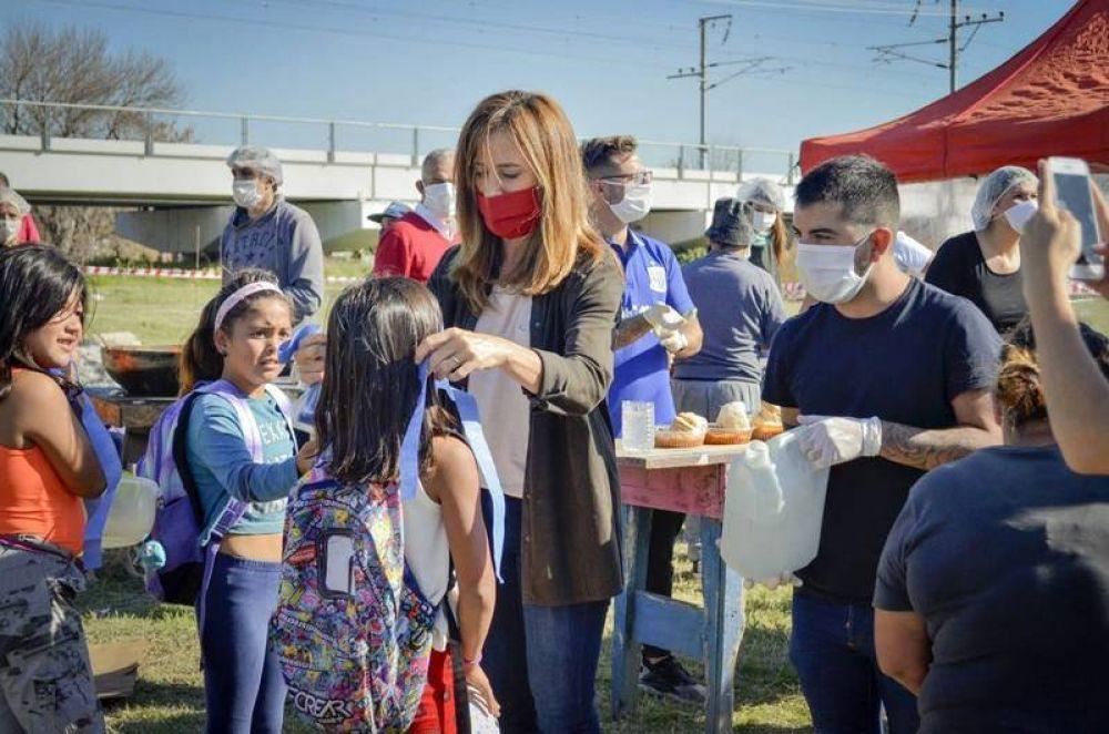 Presentaron el nuevo protocolo sanitario establecido para comedores y cocinas comunitarias