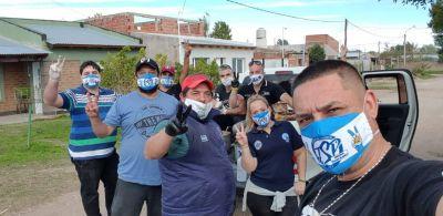 Juventud Sindical Bahía Blanca se solidariza con barrios de nuestra ciudad